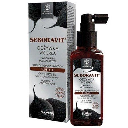 Seboravit - ODŻYWKA do włosów przetłuszczających się i łojotokowych, 100 ml.