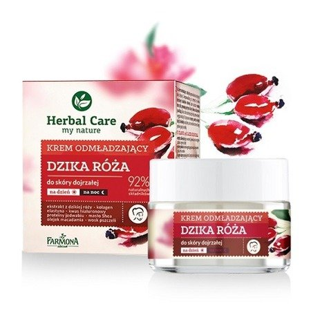 Herbal Care KREM Dzika Róża, 50 ml.