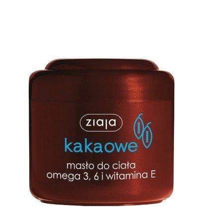 ZIAJA - Masło Kakaowe - MASŁO do ciała, 200 ml.
