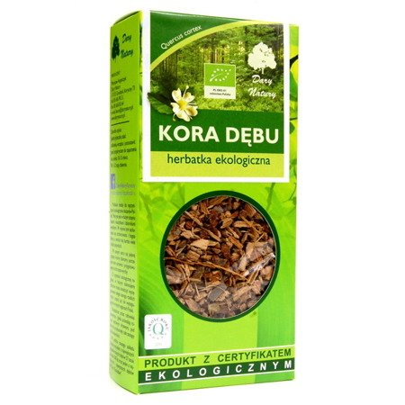 Oak Bark, ECO, 100 g . Dary Natury