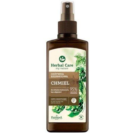 Herbal Care ODŻYWKA ekspresowa Chmiel, 200 ml.