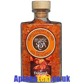 Magic Spa - SÓL do kąpieli bursztynowy relaks, 570,g.