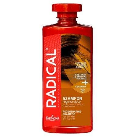 Radical - SZAMPON do włosów suchych i łamliwych, regeneruje i wzmacnia włosy, 400 ml.
