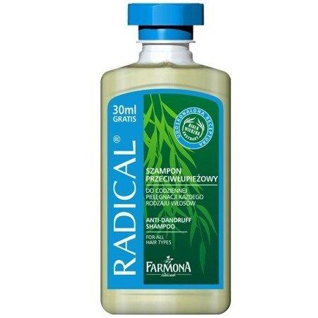 Radical - SZAMPON przeciwłupieżowy do każdego rodzaju włosów, 300 ml.