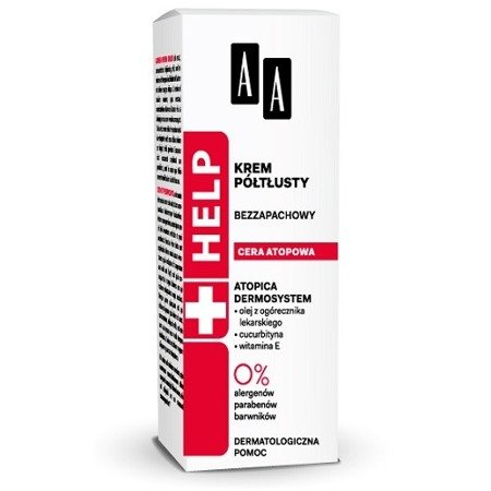 AA - HELP Cera atopowa - KREM półtłusty 50 ml.