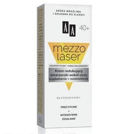 AA - Mezzolaser 40+ - KREM redukujący zmarszczki wokół oczu, 15 ml.