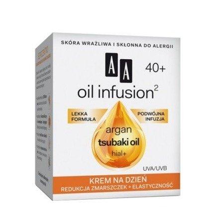 AA - Oil Infusion2 40+ - KREM redukujący zmarszczki i uelastyczniający, 50 ml.