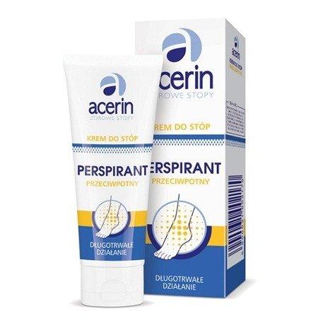 Acerin PERSPIRANT - KREM przeciwpotny do stóp, 75 ml.