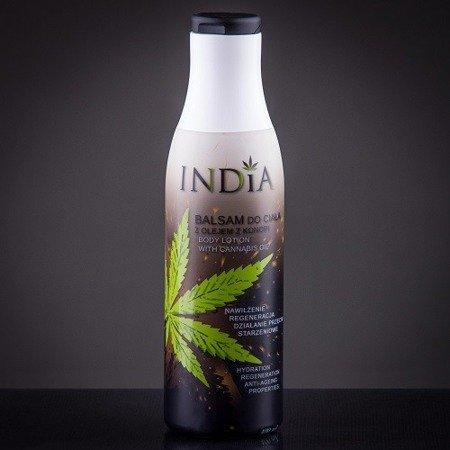 Balsam do ciała z olejem konopnym, 400 ml. India