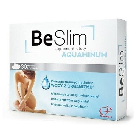 Be Slim AQUAMINUM, 30 tabletek.