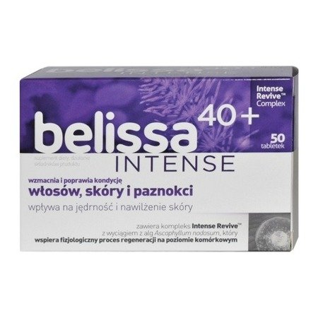 Belissa Intense 40+, 50 tabletek.
