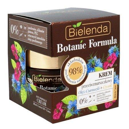 Bielenda Botanic Formula, Olej z Czarnuszki+Czystek, KREM przeciwzmarszczkowy, 50 ml.