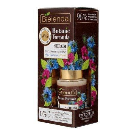 Bielenda Botanic Formula, Olej z Czarnuszki+Czystek, SERUM przeciwzmarszczkowe, 15 ml.
