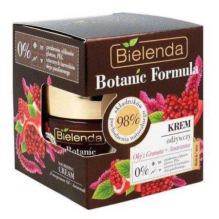 Bielenda Botanic Formula, Olej z Granata+Amarantus, KREM odżywczy, 50 ml.