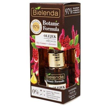 Bielenda Botanic Formula, Olej z Granatu+Amarantus, OLEJEK odżywczy, 15 ml.