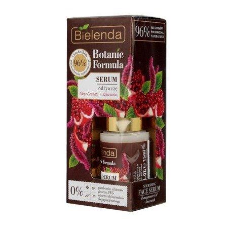 Bielenda Botanic Formula, Olej z Granatu+Amarantus, SERUM odżywcze, 15 ml.
