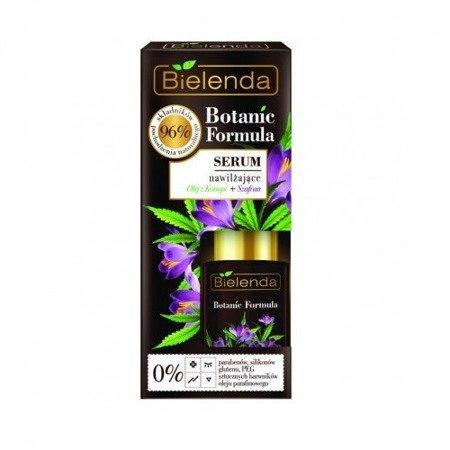 Bielenda Botanic Formula, Olej z Konopi+Szafran, SERUM nawilżające, 15 ml.