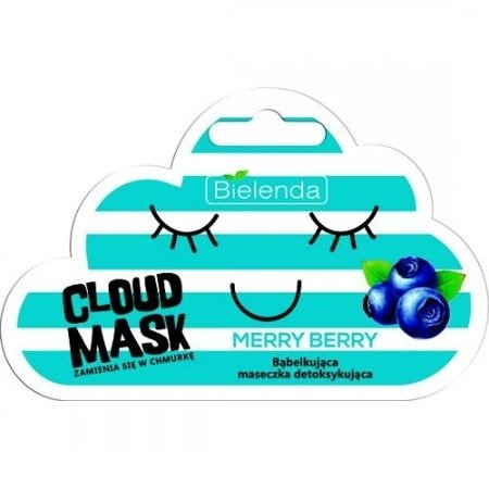 Bielenda Cloud Mask, MASECZKA Merry Berry 6 g.