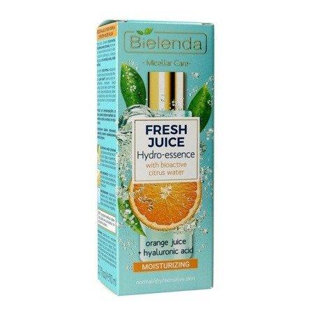 Bielenda Fresh Juice, ESENCJA nawilżająca, pomarańczowa, 110 ml.