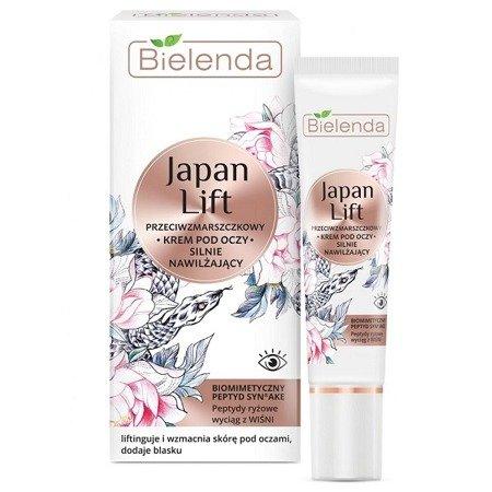 Bielenda Japan, KREM pod oczy silnie nawilżający, 15 ml