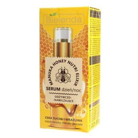 Bielenda Manuka Honey, SERUM odżywczo-nawilżające, 30 g.