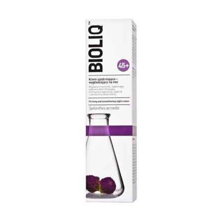 Bioliq 45+ - KREM ujędrniająco-wygładzający na NOC, 50 ml.