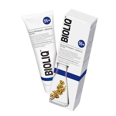 Bioliq 55+ Krem liftingujący na NOC, 50 ml.