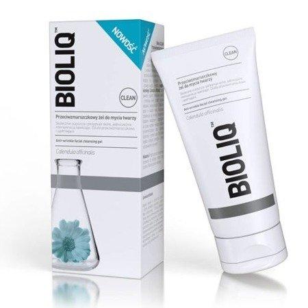 Bioliq Clean - ŻEL przeciwzmarszczkowy do mycia  twarzy, 125 ml.