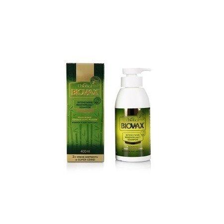 Biovax - SZAMPON intensywnie regenerująca do włosów Bambus &Avocado, 400 ml.