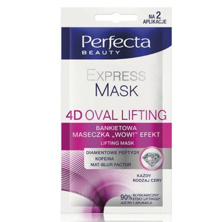 DAX - Perfecta Beauty - EXPRESS MASK 4D OVAL LIFTING, 10 ml.