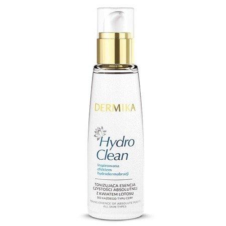 Dermika Hydro Clean, Tonizująca ESSENCJA czystości absolutnej, 150 ml.