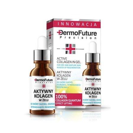 DermoFuture Precision, KURACJA Aktywny Kolagen, 20 ml.
