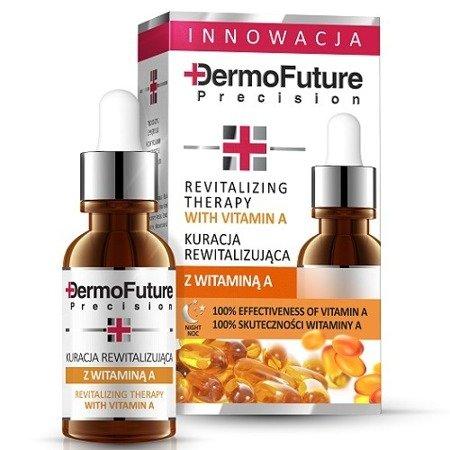 DermoFuture Precision, KURACJA rewitalizująca z witaminą A, 20 ml.