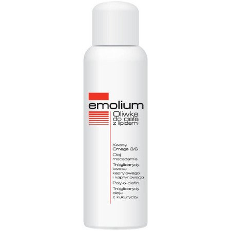Emolium - OLIWKA z lipidami do ciała od pierwszych dni życia, 150 ml.