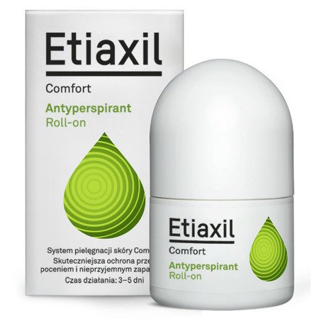 Etiaxil Comfort - antyperspirant roll-on, 15 ml.