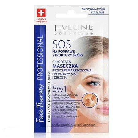 Eveline Face Therapy Professional - Chłodząca Maseczka Przeciwzmarszczkowa, 7 ml.
