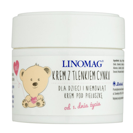 Linomag - KREM z tlenkiem cynku, 50 ml.(Ziołolek)