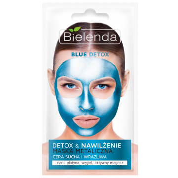 Maski Metaliczne - Blue Detox, 8 g.