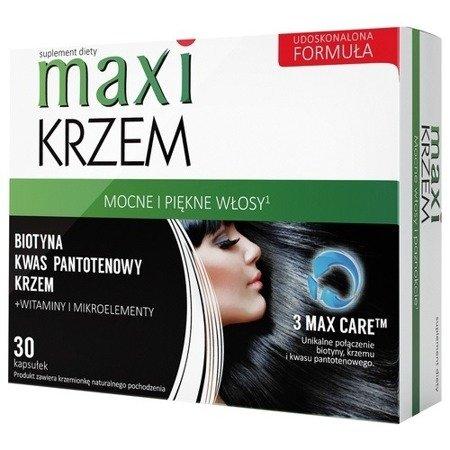 Maxi KRZEM - Odżywia skórę, włosy i paznokcie, 30 kapsułek.