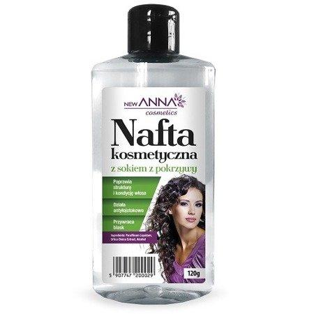 Nafta kosmetyczna z sokiem pokrzywy, 120 g. (Anna)
