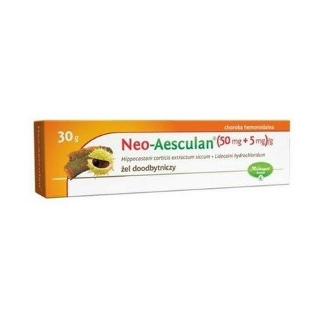 Neo-Aesculan, - ŻEL łagodzący objawy hemoroidów, 30 g.