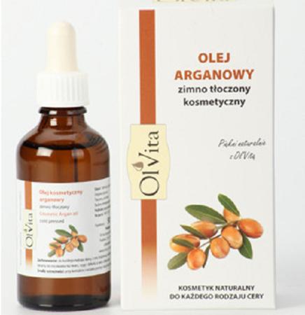 Olej arganowy kosmetyczny, 50 ml. Olvita