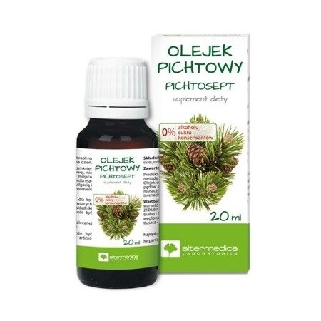 Olejek pichtowy, 20 ml. Alter Medica