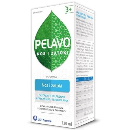 Pelavo Nos i Zatoki - SYROP, 120 ml.