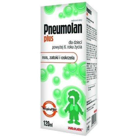 Pneumolan Plus - SYROP, 120 ml.
