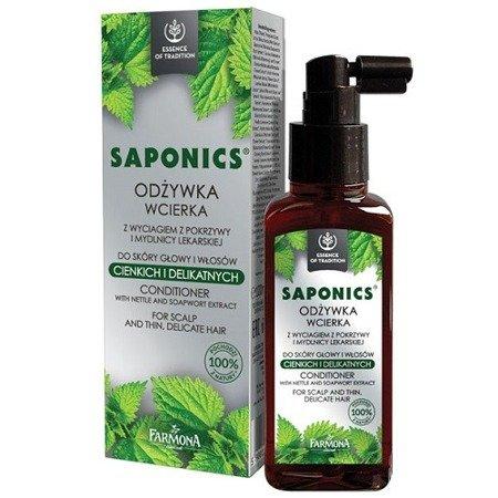 Saponics - KOMPLEKS odżywczy do skóry głowy i bardzo delikatnych włosów, 100 ml.