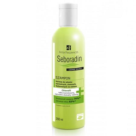 Seboradin - Ciemne włosy - SZAMPON, 200 ml.