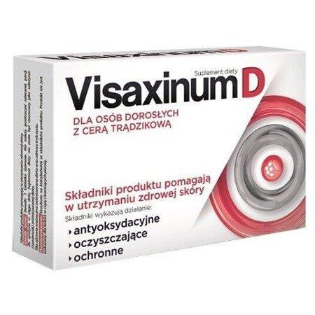 Visaxinum D, 30 tabletek.