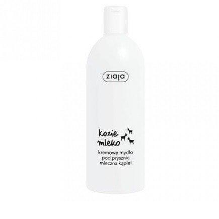 ZIAJA - Kozie Mleko - Kremowy ŻEL pod prysznic, 500 ml.