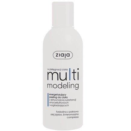 ZIAJA - Multimodeling - PEELING energetyzujący do ciała, wygładza i działa antycellulitowo 200 ml.